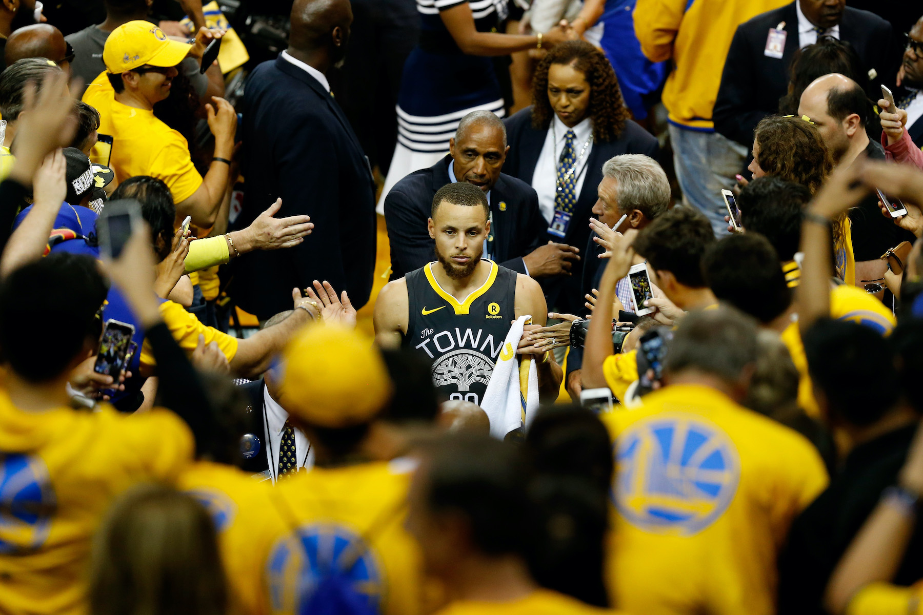The Golden State Warriors Have the NBA's Most Passionate Fans According to a New Study