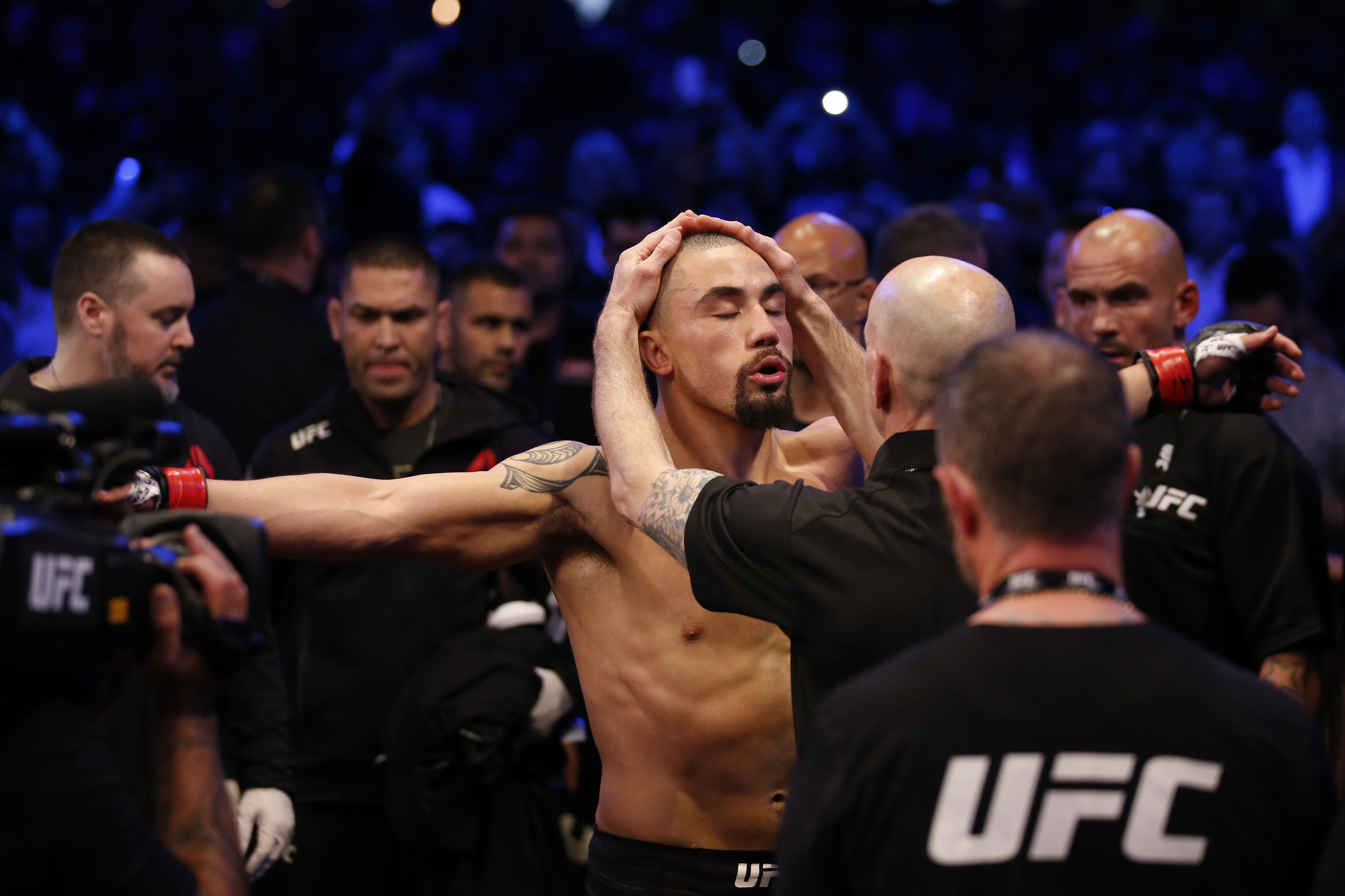 Why UFC Fighter Robert Whittaker Refuses to Trash Talk His Opponents